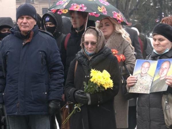 У Луцьку вшанували пам'ять загиблих українських добровольців