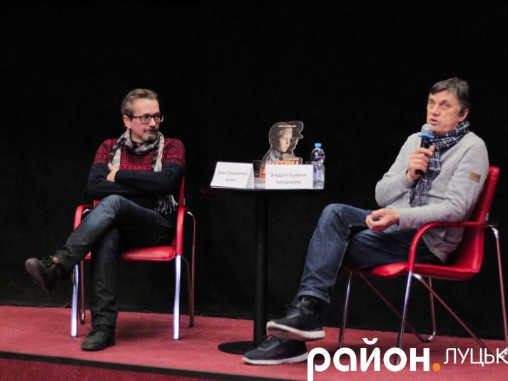 Актор Олег Симоненко та продюсер Андрій Суярко