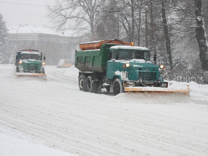 Департаменту ЖКГ виділили понад три мільйони за розчистку вулиць взимку