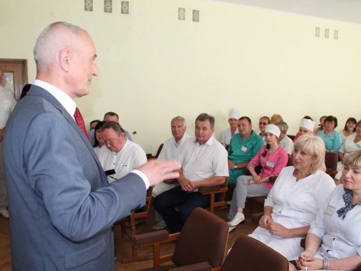 Волинський губернатор завітав у Ківерцівську лікарню