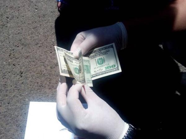 Отримані хабарниками гроші