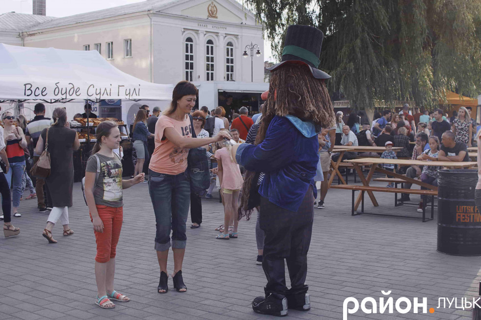 Розваги в центрі міста в рамках фестивалю «AEROSFERA»