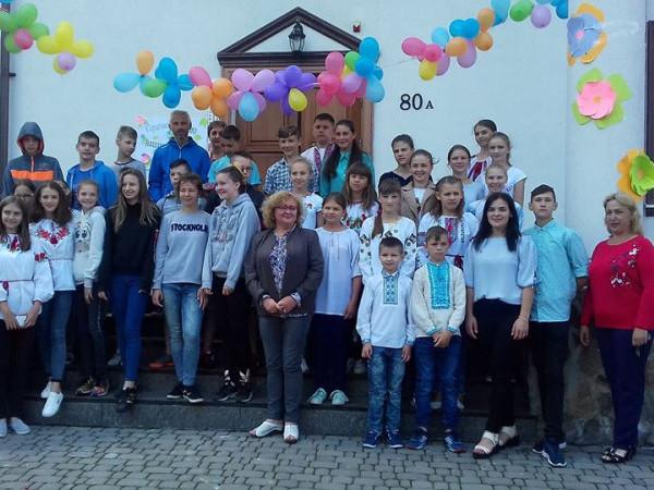 Спільний відпочинок дітей з України та Польщі