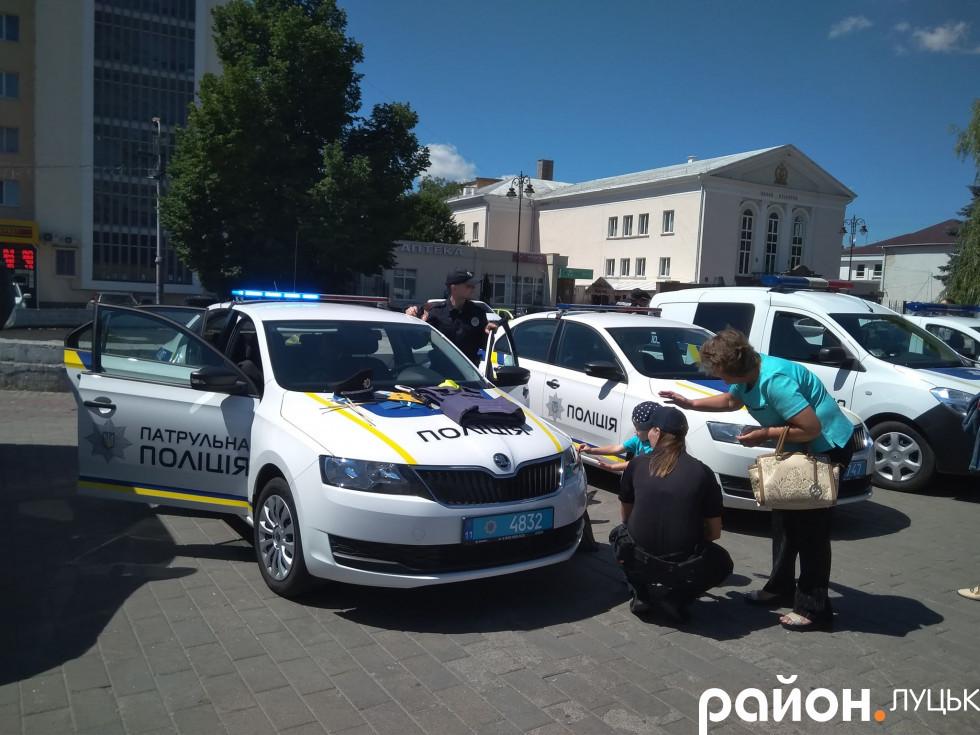 Автомобілі правоохоронців