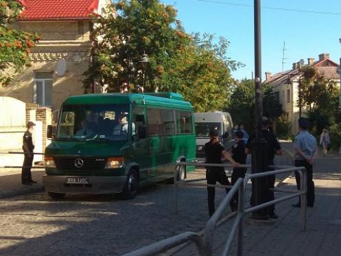 Поліцейські перекрили Старе місто