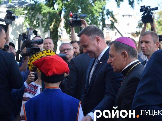 Президент Польщі в Луцьку