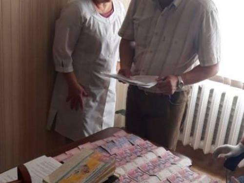 Головний лікар районної лікарні на Волині «погоріла» на хабарі