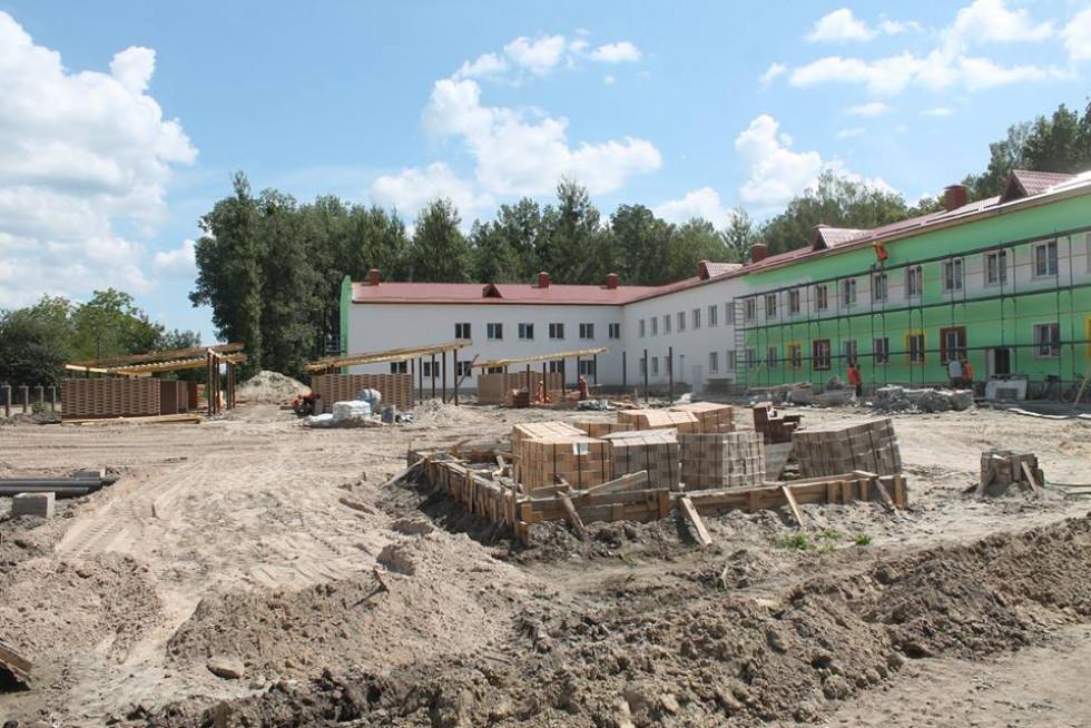 Уже виконано 80% будівельних робіт