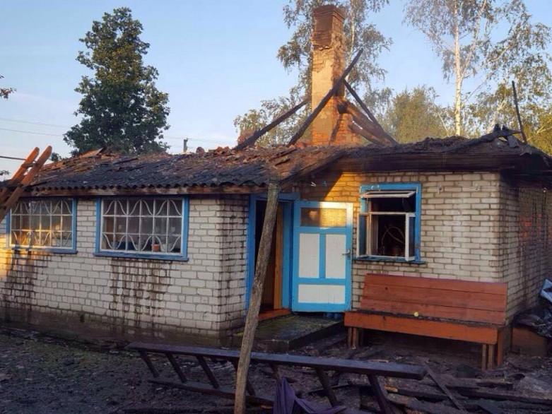 На Камінь-Каширщині згоріла літня кухня