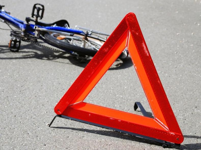 Велосипедист травмований