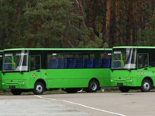На кордон відправлять 20 нових автобусів«Богдан»
