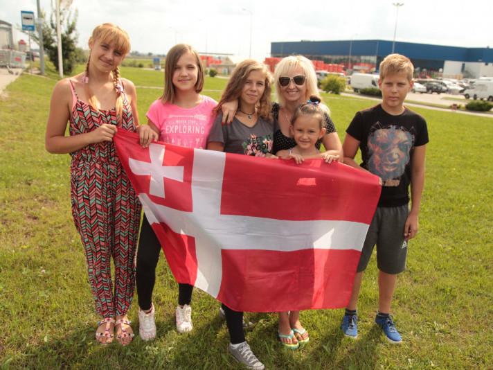 Дітки заблих атовців з Волині поїхали до Відня