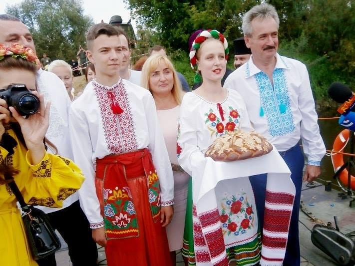 Цього року урочисте дійство відбувалося 19 серпня на українській стороні кордону