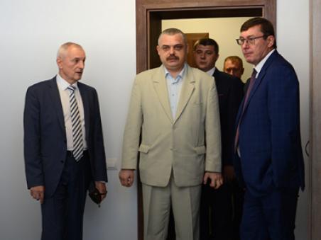 Луценкові показали нове приміщення прокуратури Волині