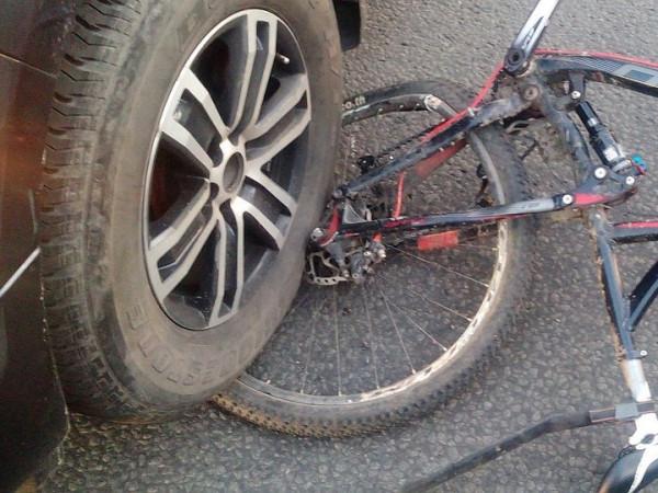 У ДТП постраждав велосипедист