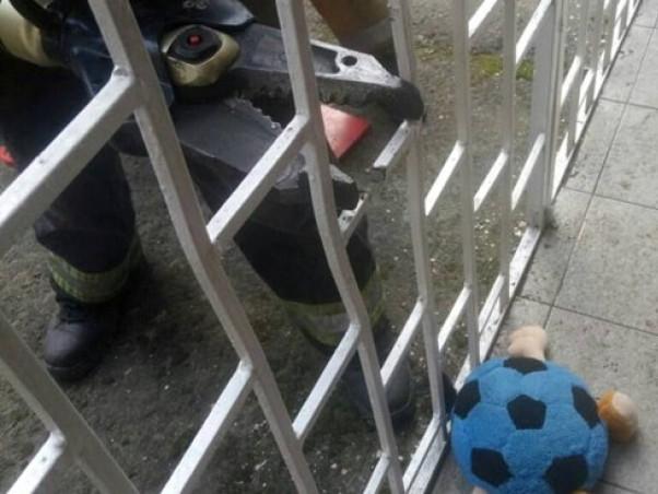 Дитину звільнили за допомогою гідравлічного обладнання