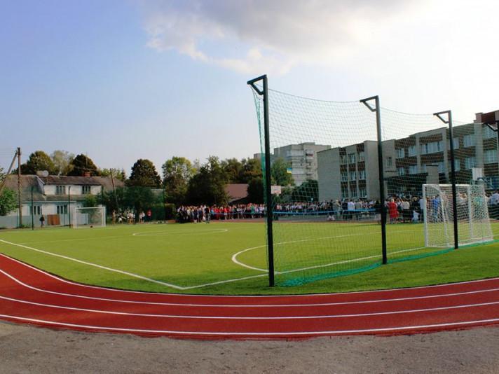 У Володимирі відкрили сучасний спортивний майданчик
