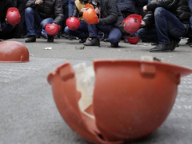 Акція протесту шахтарів