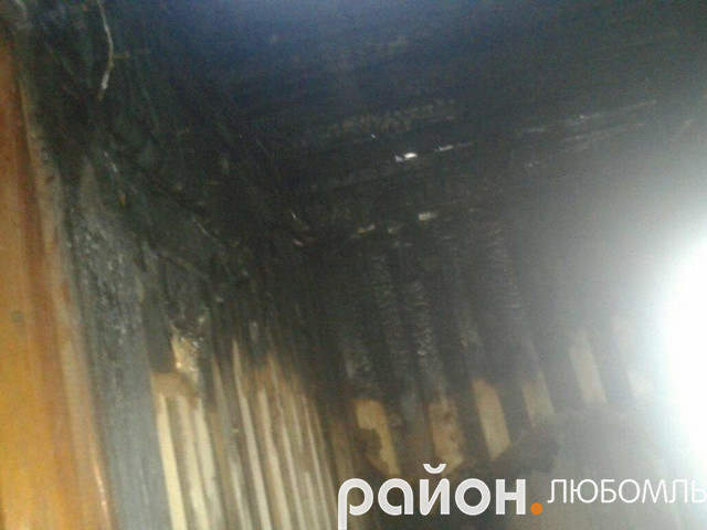 Пожежа у Чорноплесах