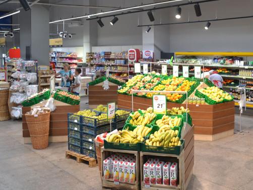 Мережа «Наш Край» оновила один із своїх найбільших супермаркетів