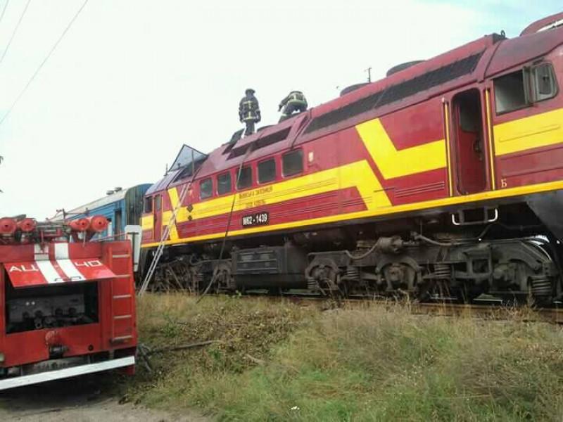 Пожежа у потязі «Ковель-Ягодин» біля станції Мацеїв