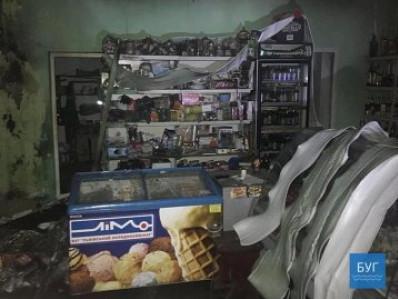 В одному із волинських сіл горіла продовольча крамниця