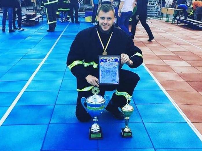 Ратнівський рятувальник один із переможців міжнародних змагань