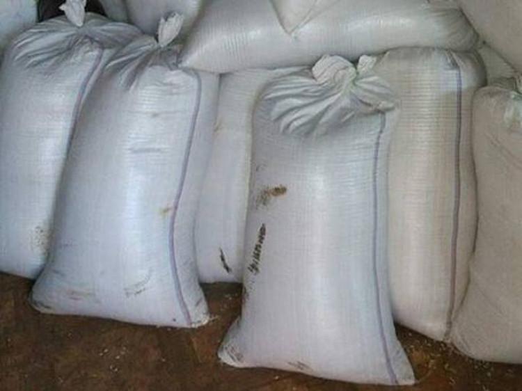 У Ковелі поліція зберігає мішки із зерном, хоча там не реалбаза/ Фото ілюстративне