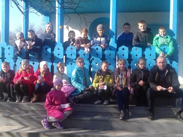Прохідські школярі відвідали Лесину домівку