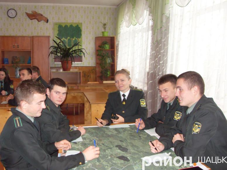 В Шацькому лісовому коледжі відбувся семінар, у якому взяли участь студенти, викладачі навчального закладу та представники делегації з Німеччини