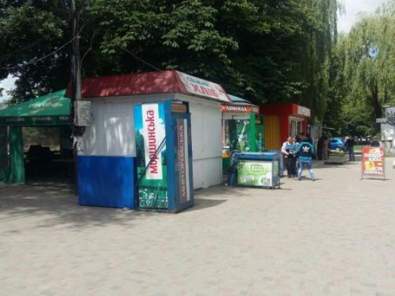 Кіоски в Луцьку