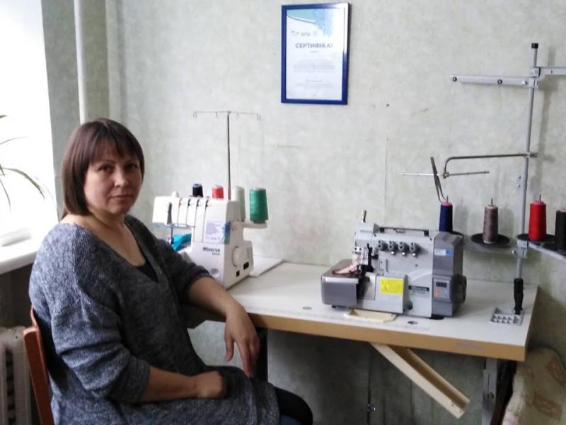 У Горохові переселенка з Луганщини отримала грант на розвиток бізнесу