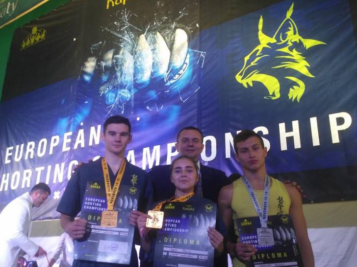 Маневичанин виборов золото на Чемпіонаті Європи з хортингу