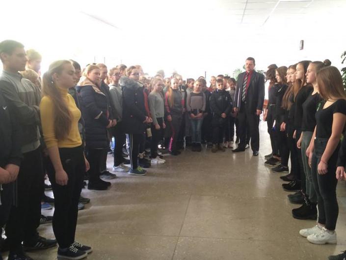 В одній із шкіл Іваничівщини відзначили День Гідності та Свободи