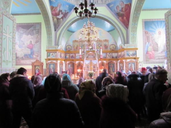 У Мирному відзначили престольне свято