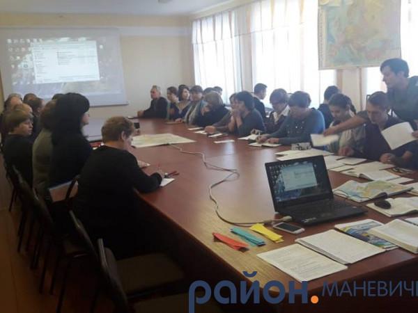 У Великій Осниці провели районний семінар з географії