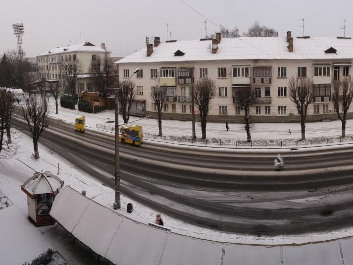 Сніг у Луцьку
