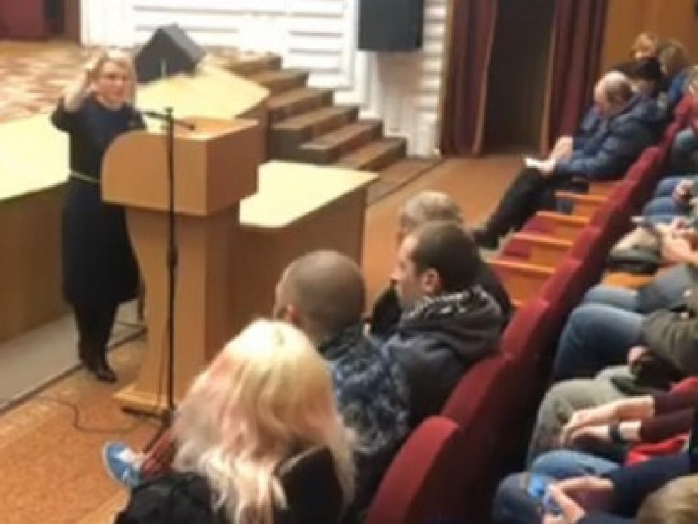 Збори водіїв авто на єврономерах у Луцьку