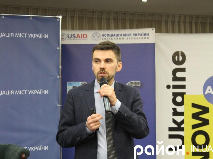Заступник Міністра охорони здоров'я України Павло Ковтонюк