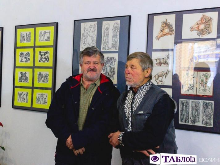 У Луцьку Микола Головань присвятив виставку пам'яті сина