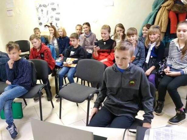 Камінь-каширські учні розмовляли по скайпу з турецькими однолітками