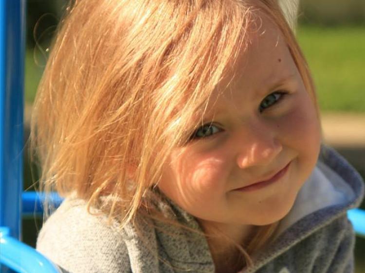 П'ять років святкувала донька загиблого Героя красунечкаАнастасія Королько