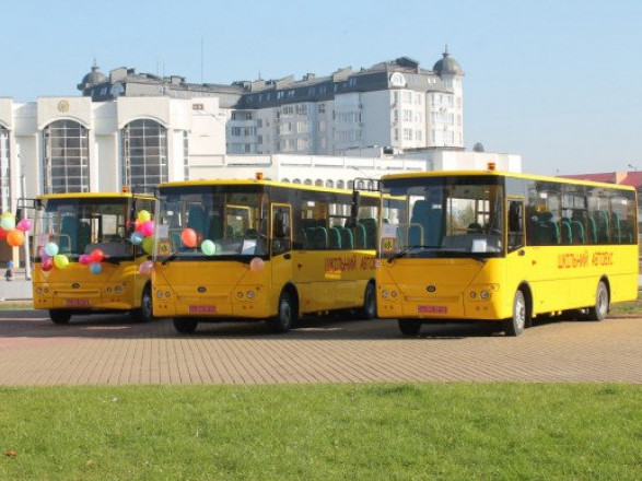 Володимирська громада отримала шкільний автобус