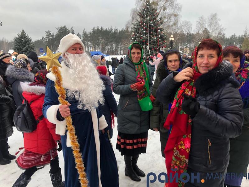 У Маневичах провели свято «В гостях у Ялинки»