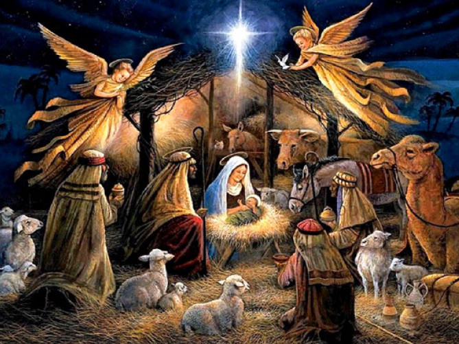 Хор духовенства Ратнівського району привітав всіх з Різдвяними святами