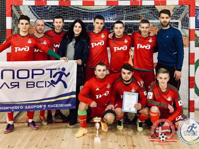 Команда «Прип'ять» із Любешева