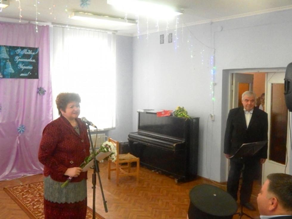 Начальниця відділу культури райдержадміністрації Діна Колесник