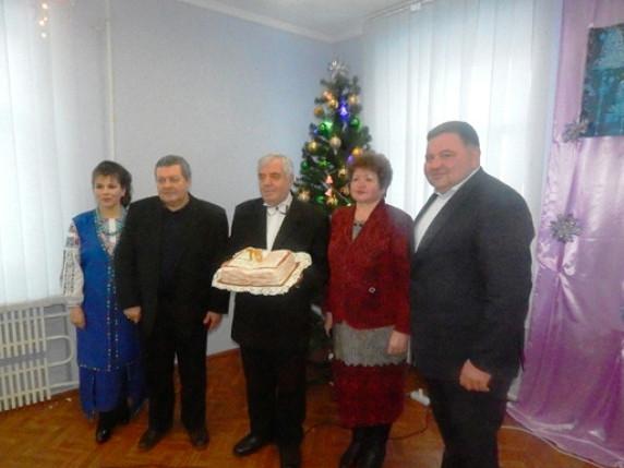У Горохові вітали з ювілеєм Заслуженого працівника культури України Петра Старушика