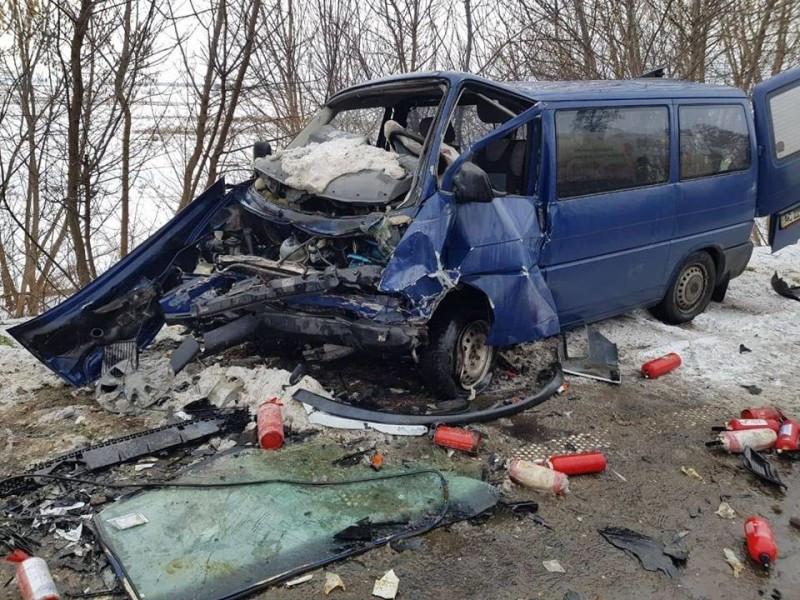 Показали відео з місця жахливої аварії на Ковельщині