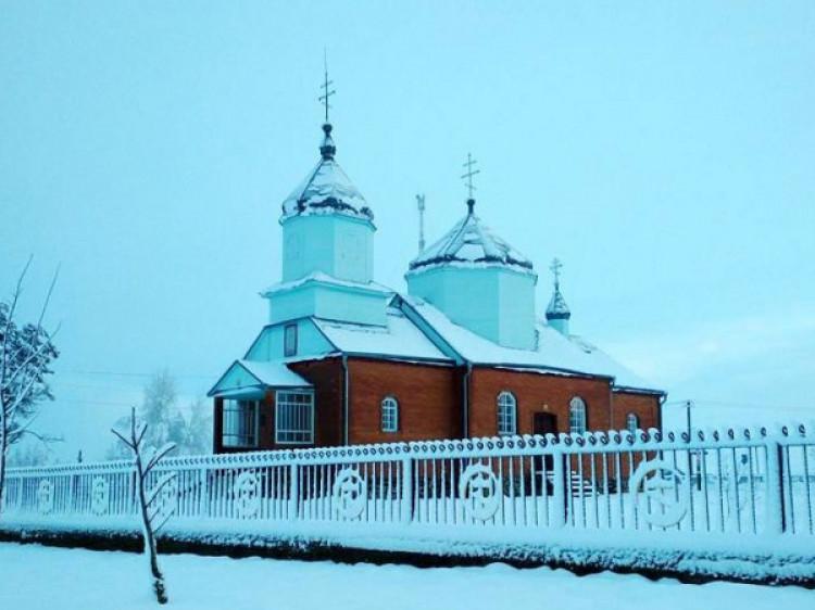 Свято-Михайлівський храм села Красноволя